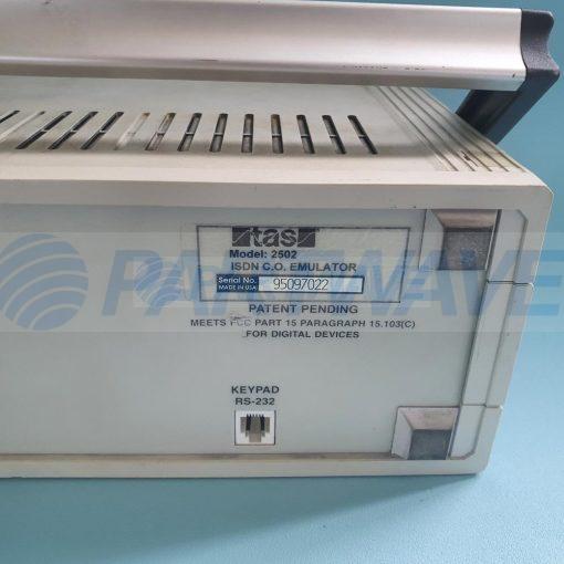 TAS 2502A ISDN C.O. EMULATOR