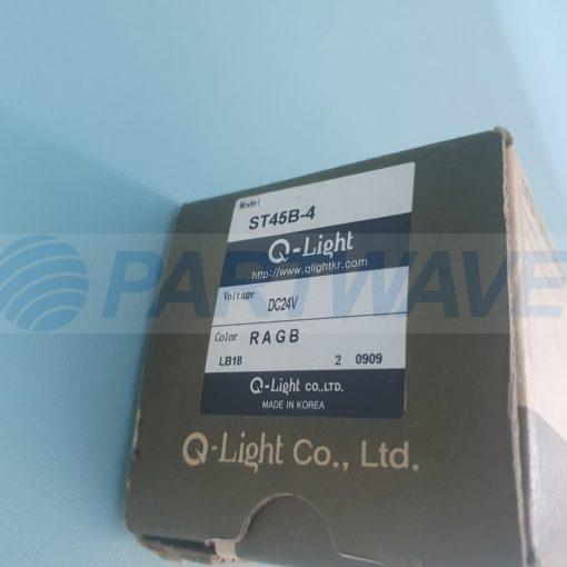 QLIGHT ST45B-4 SIGNAL TOWER LIGHTS DC24V RAGB
