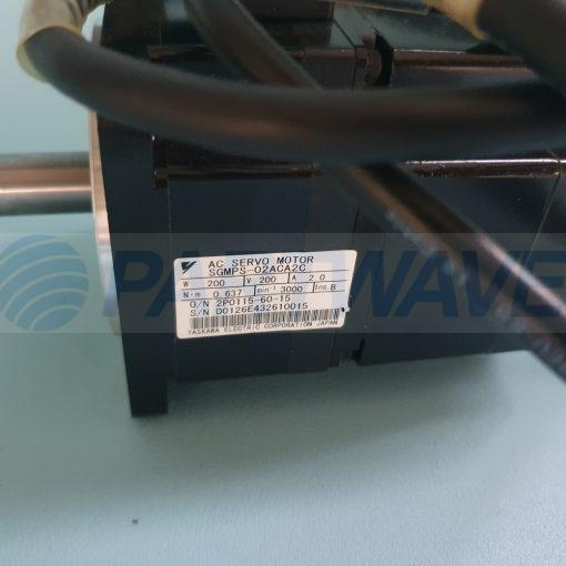 YASKAWA SGMPS-02ACA2C AC SERVO MOTOR