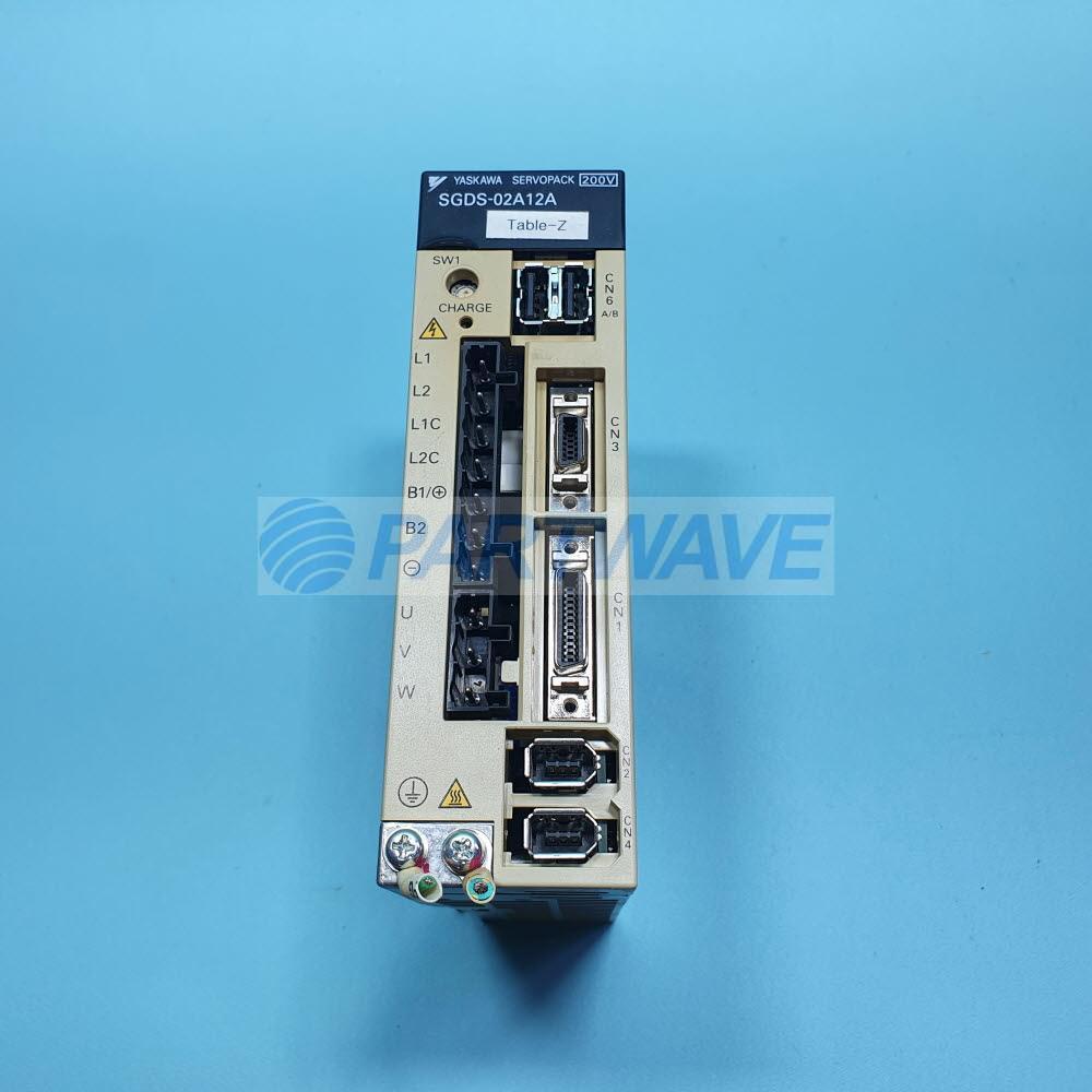 02A12A Servopack 200 W 200 V SGDS 02A12A Yaskawa Electric SGDS